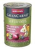 Animonda GranCarno Adult Superfood Rind & Rote Beete 400g