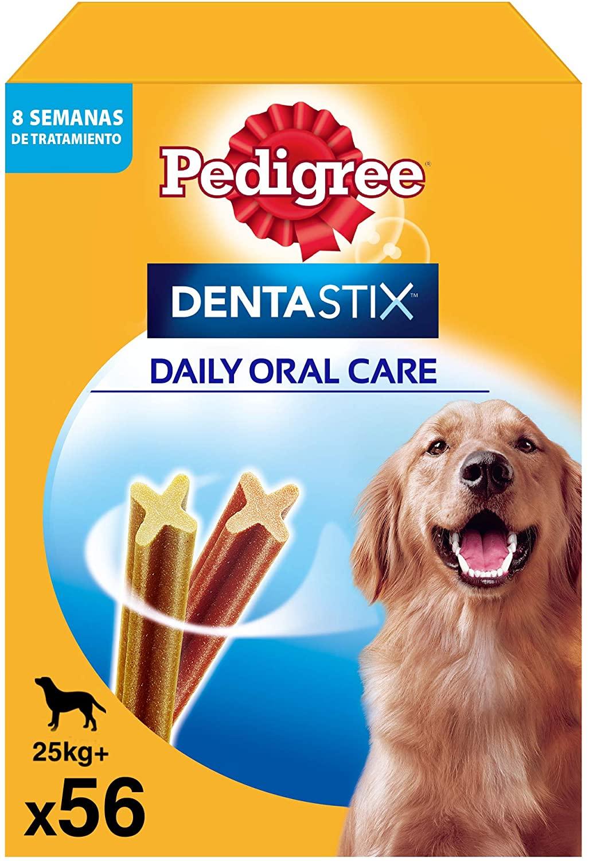 Pedigree Pack de 56 Dentastix de uso diario para la limpieza dental de perros grandes (Pack de 1)