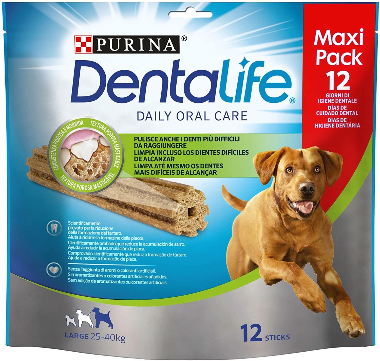 Purina Dentalife Perro Grande [5 packs x 12 sticks]