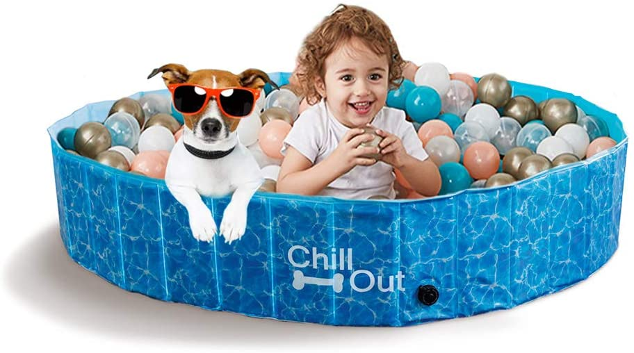 All For Paw - Piscina para perros extragrande
