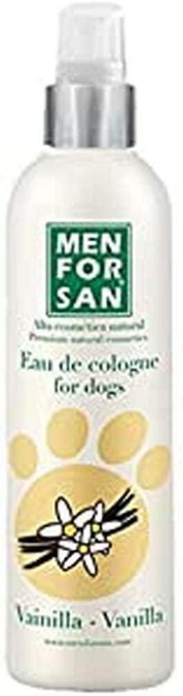 MEN FOR SAN Agua de Colonia para Perros Vainilla -125 ml